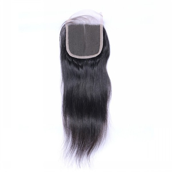 8A Top Grade Closures with Baby Hair Jerry Kinky Curly Body Natural Wave Straight Closures Free Middle Three Part Closure