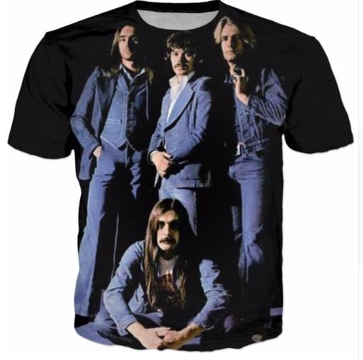 honglianstore88 / Status Quo T-Shirt Women Men Fashion Clothing 3D T Shirt Summer Tee Casual Tshirt Shirt Outfits Tops H09