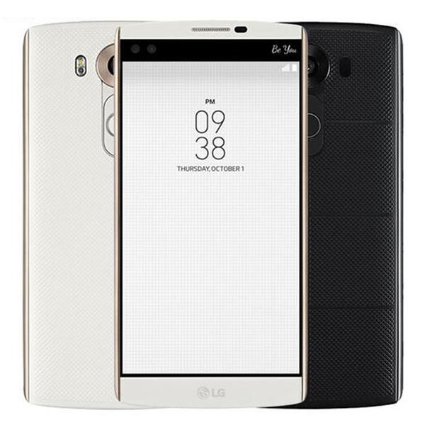 Refurbished Original LG V10 4G LTE H961N H900 H901 5.7 inch Hexa Core 4GB RAM 64GB ROM 16MP Camera Unlocked Mobile Cell Phone DHL 1pcs