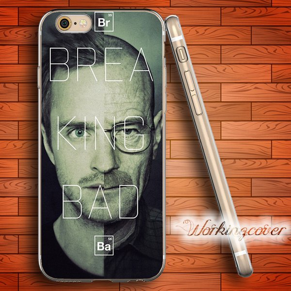 Fundas Breaking Bad Heisenberg Soft Clear TPU Case for iPhone 7 6 6S Plus 5S SE 5 5C 4S 4 Case Silicone Cover.