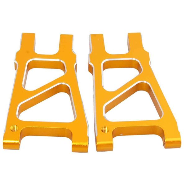 RC HSP 188021 (08050) Gold Alum Rear Lower Suspension Arm For 1:10 Nitro Truck