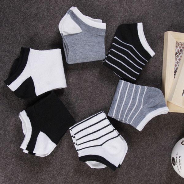 Neue Mode Männer Baumwolle Schiff Boot Kurze Socke Knöchel Unsichtbare Socken Sommer Atmungsaktive Weiche Bequeme calcetines hombre 5 Paare / los