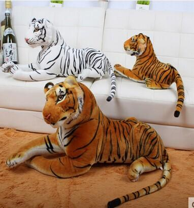 """Giant Big 47"""" /120 cm Tiger Stuffed Plush Animal Toy /2 color choices"""