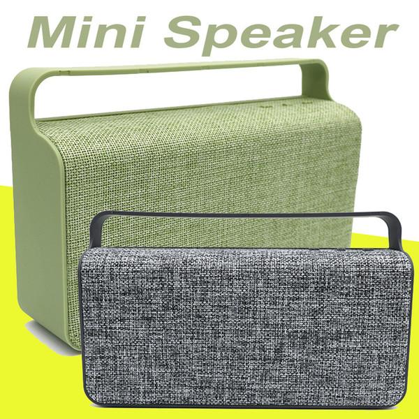 HS-456 Bluetooth Hoparlörler Taşınabilir Kumaş Hoparlör V4.0 Çift 10 W Stereo Ses ve Gelişmiş MIS150