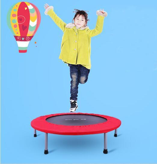 Gros-48 pouces 122CM pliant Trampoline enfants printemps saut lit intérieur bébé Bounce bed équipement de conditionnement physique
