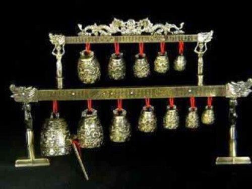 Cloches en laiton chinois dragon dragon glockenspiel