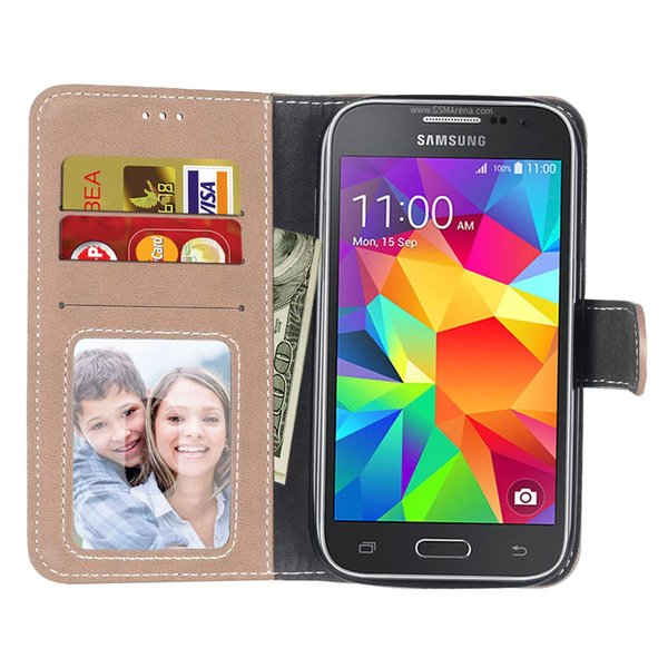 pretty nice c08dc d4930 Flip Case For Samsung Galaxy Core Prime G360 G360H/DS SM G360H/DS SM G360F  Case Phone Leather Cover SM G360H G360F G360M Cases Cell Phone Case Wallet  ...
