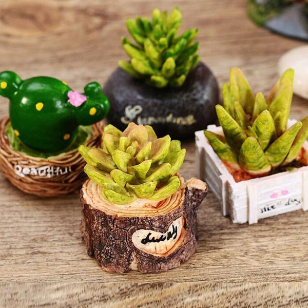 Christmas Succulent Decor.Artificial Potted Succulent Plants Simulation Flower Resin Craft Home Furnishing Diy Home Office Desktop Garden Decor Za3311 Christmas Gag Gifts
