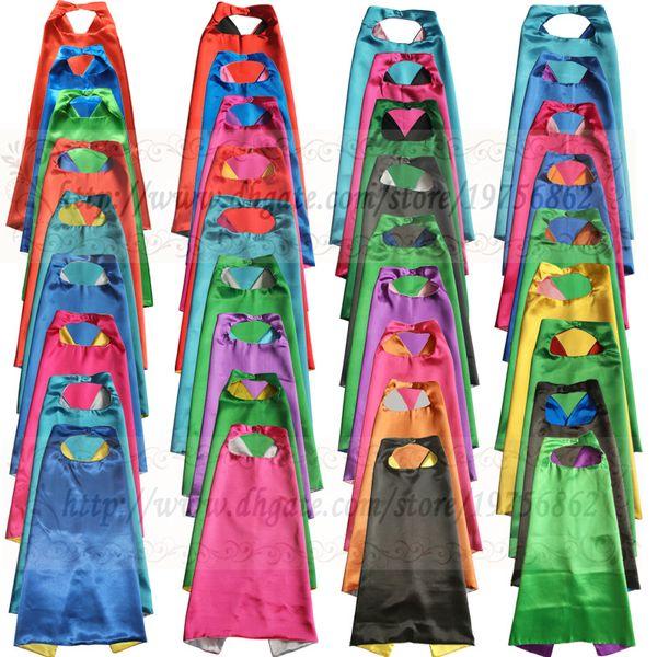 best selling Kids superhero cape - PLAIN - kids cape for birthday party favor or activity - childrens- super hero gift superhero halloween costume