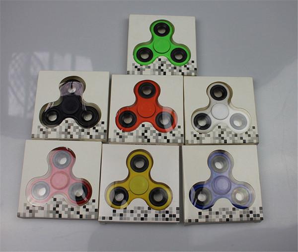 top popular Fidget Spinner Hand Spinners EDC Tri Torqbar HandSpinner Ball Fingertips Spiral Finger Gyro Decompression Desk Focus Toys For Killing Time 2019