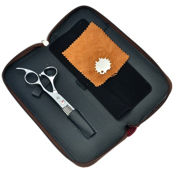 6.0Inch Purple Dragon Hair Thinning Shears Hair Cut Hairdressing Styling Tool Top Grade Sharp Edge Scissors Salon Hair Products LZS0317