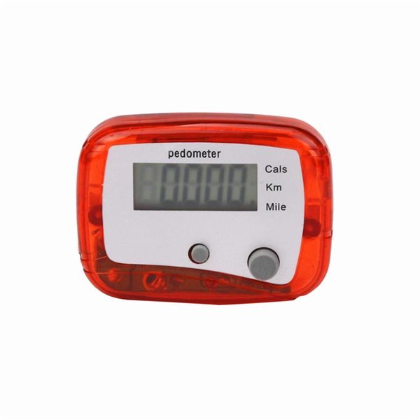 Wholesale- LCD Pedometer Step Walking Jogging Calorie Counter Distance Fitness+ Belt Clip Valentine's Day Gifts