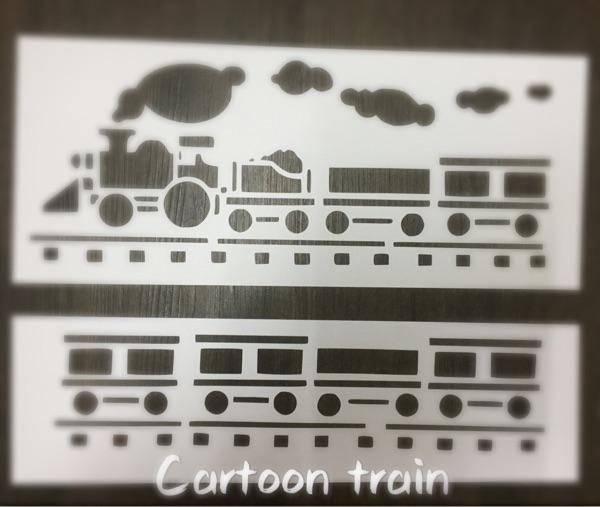 2019 Wholesale Flexible Stencils For Kids Masking Template For  Scrapbooking,Cardmaking,Painting,DIY Cards,Drawing Little Train Beeping 333  From