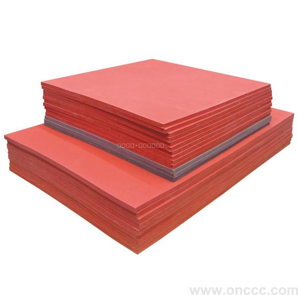 Calda gomma di silicone flessibile resistente 40 * 60cm di vendita più calda per la macchina transfer di stampa di calore, thicness 0.8cm, temperatura: 0-399