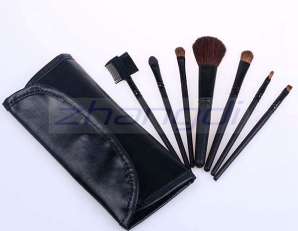 Free shipping epacket china Post!Good quality hot sales 7 PCS Set& kits portable makeup tools Makeup brush HZS004-070