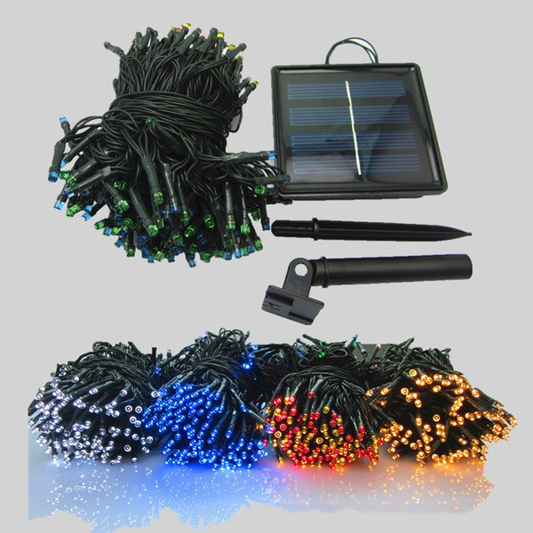 Solar String lights Outdoor Led Christmas Lights 72ft 200 LED Fairy String Lights Ambiance Lighting for Outdoor Patio Lawn, Landscape Fairy