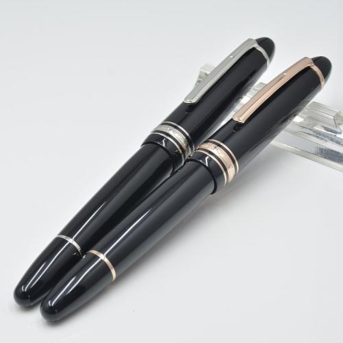 Luxury Meisterstceks #149 Black Resin Roller ball pen stationery office supplies Monte Brands Write gift Pens and Serial Number High quality