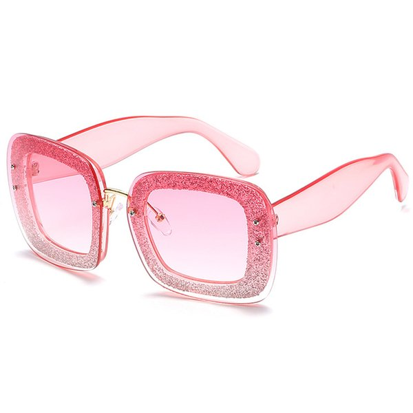 C3 Clear Pink Frame Light Gradient Pink