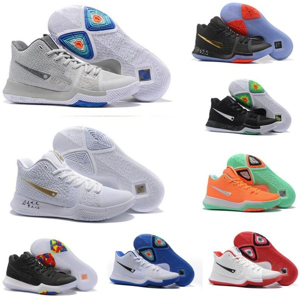 huge selection of 37438 1966f Cheap 2017 Kyrie 3 Basketball Shoes Men Cheap Red Crossover Huarache Cavs  Kyrie Irving 3s Iii Basketball Sports Shoes Original Sneakers Size Cp3  Shoes ...