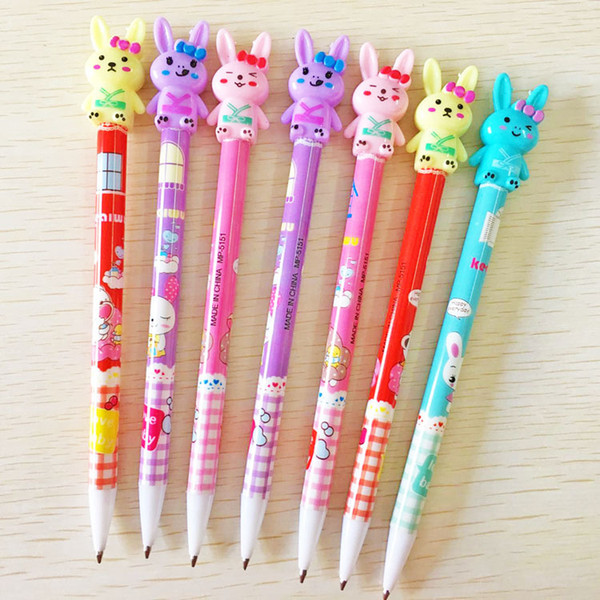 Stationery stationery cute rabbit automatic pencil creative cartoon activities pencil 0.5MM wholesale