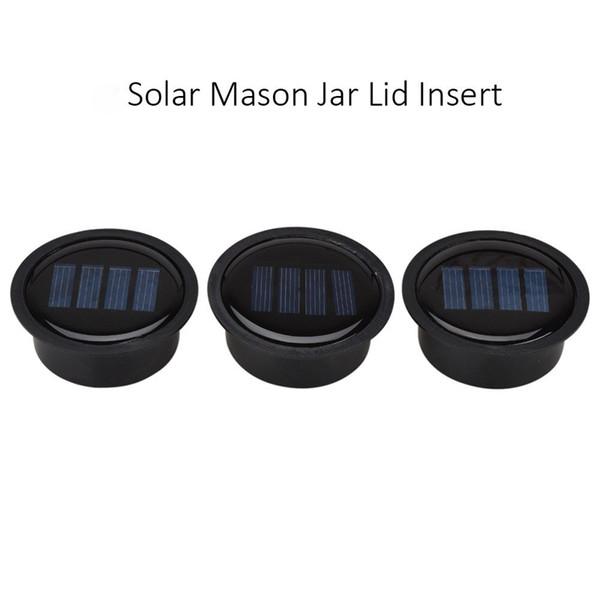best selling 1pc Solar Mason Jar Lid Insert - LED Mason Jar Solar Light for Glass Mason Jars and Garden Decor Solar Lights