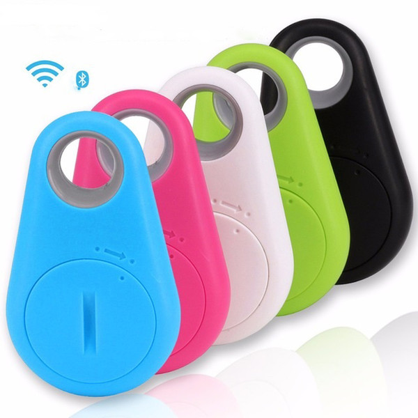 Mini Bluetooth GPS Tracker For Car Smart Key Lost Smart Finder Itag Anti Lost Alarm Tracker With Android 500Pcs