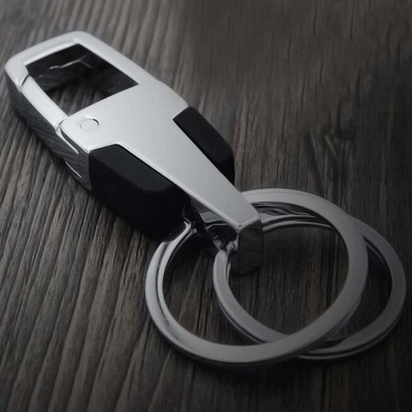 1 PCS New Free shipping Fashion Creative Beautiful Alloy car key chain Chain Jewelry Key holder hangings creative high-grade Key Ring