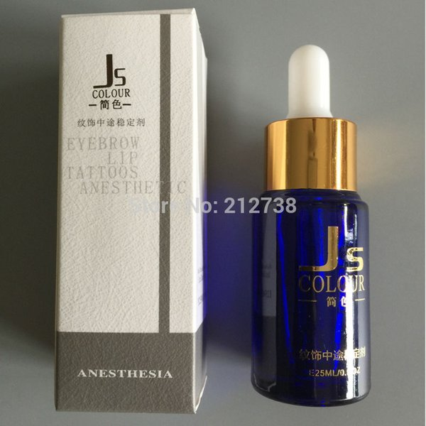 Wholesale-High Quality 1 Bottle 25ml Permanent Tattoo Makeup Assistance Auxiliary Supply For Eyebrow and Lip Makeup Tattoo Accessories