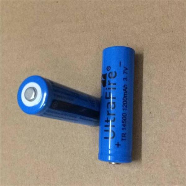 Direkter Verkauf der Fabrik 14500 Li-Ionbatterie 1200MAH 3.7V LED helle Taschenlampenbatterie Digitalkamerabatterie