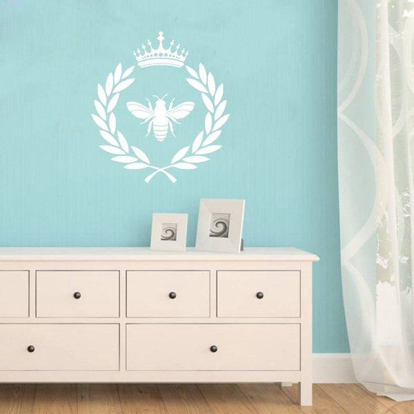 French Style Napoleonic Bee Vinyl Decals Art Wall Sticker for Living room Bedroom Home Decoration FQ0003
