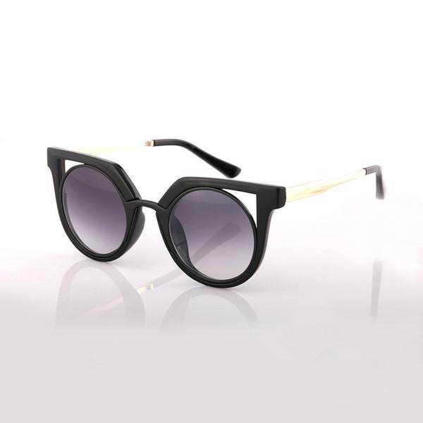 AOOKO marque lunettes de soleil 78114 alliage cadre uv protection lentille femmes mode chats lunettes de soleil 6 couleurs célèbres partout dans le monde lunettes de soleil