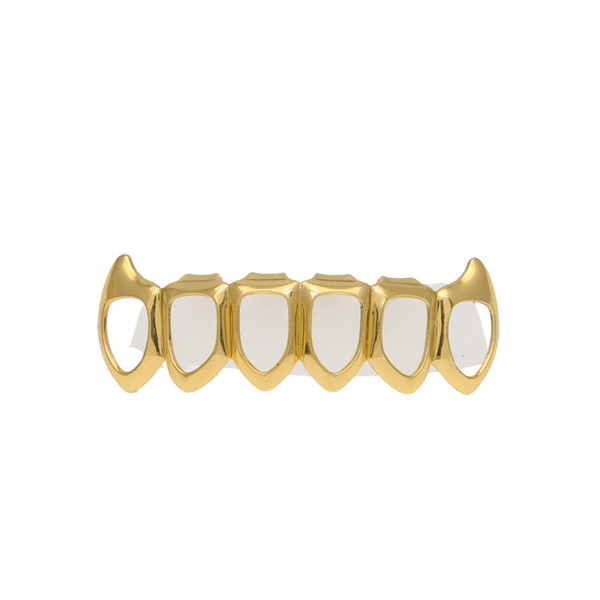 gold Down Grillz