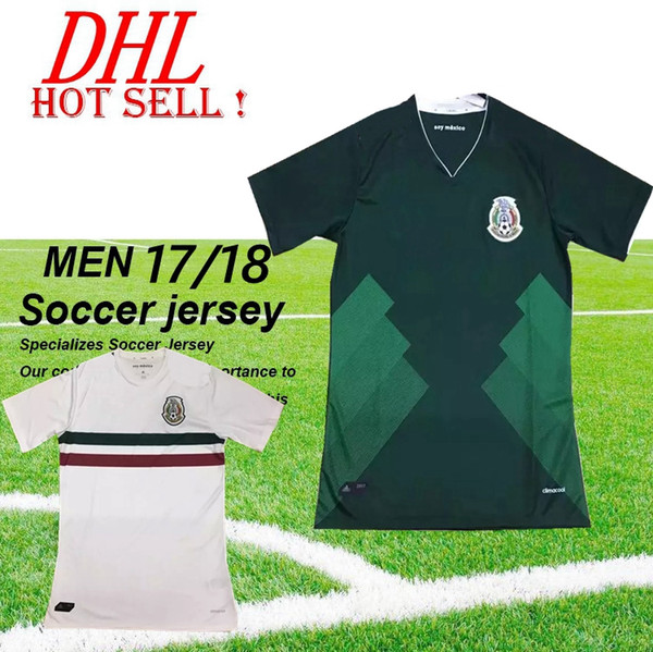 Thai Quality 2017 Copa America 2018 Mexico home away 14 CHICHARITO Soccer Jerseys mens Athletic Outdoor football shirts
