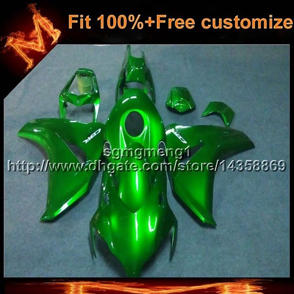 23colors+8Gifts Injection mold GREEN motorcycle cowl for HONDA CBR1000 RR 2008-2011 CBR 1000RR 08 09 10 11 motor cover ABS Plastic Fairing