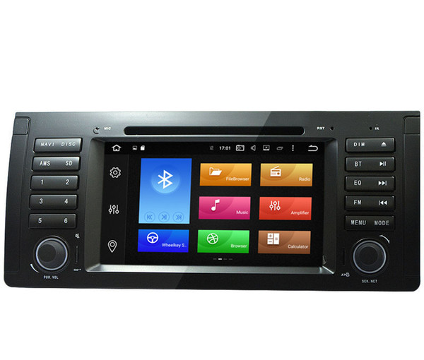 """7"""" 8-Core Android 8.0/9.0 System Double Din Car DVD For BMW E39 E38 M5 X5 GPS Navi Receiver RDS WIFI OBD DVR 4G RAM 32/64G ROM Mirror Screen"""