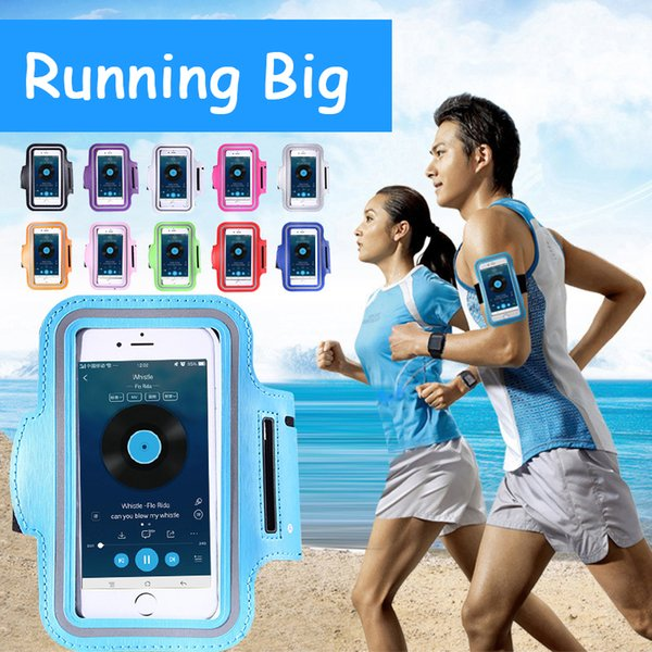 For Iphone 6 Waterproof Sports Running Case Armband Running Bag Workout Armband Holder Pouch For iphone Cell Mobile Phone Arm Bag Band