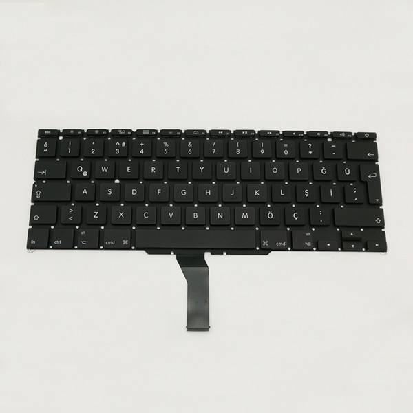 A1370 A1465 Turkish Keyboard For Apple Macbook Air 11'' A1370 Turkey Standard Replacement Keyboard 2010 To 2015 Year