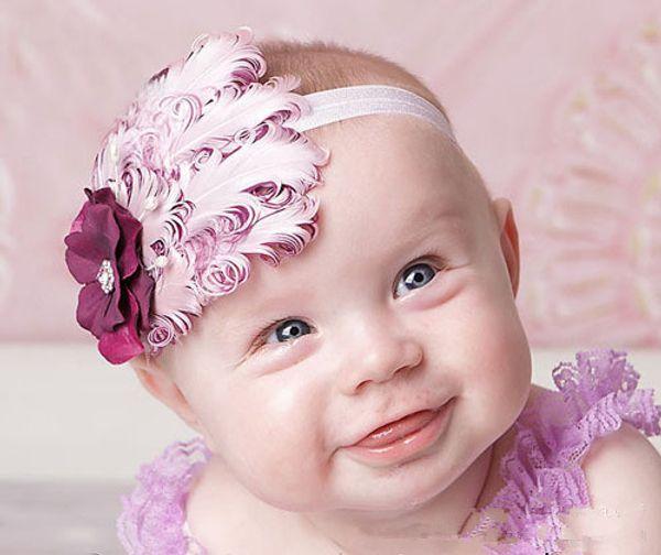 TOP BABY Girls Hair Ornaments Baby Flower Headbands Childrens Hair Accessories 34 Designs children gift B149