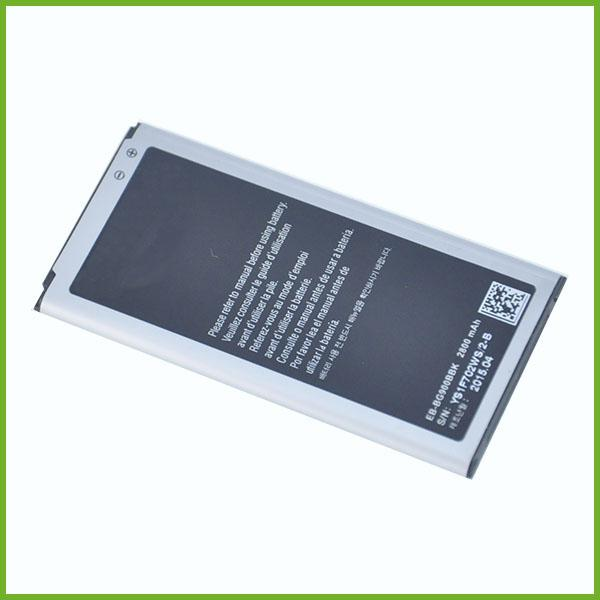 best selling china facotory polymer Built-in battery fit S5 I9600 battery without NFC battery for Samsung S5