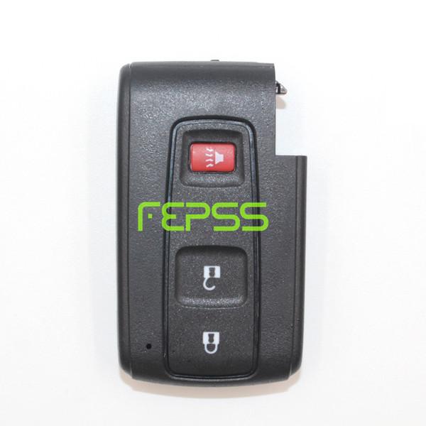 Подробнее о замене Shell без ключа Smart Remote Key Case Fob 2 + 1 кнопка для Toyota Prius