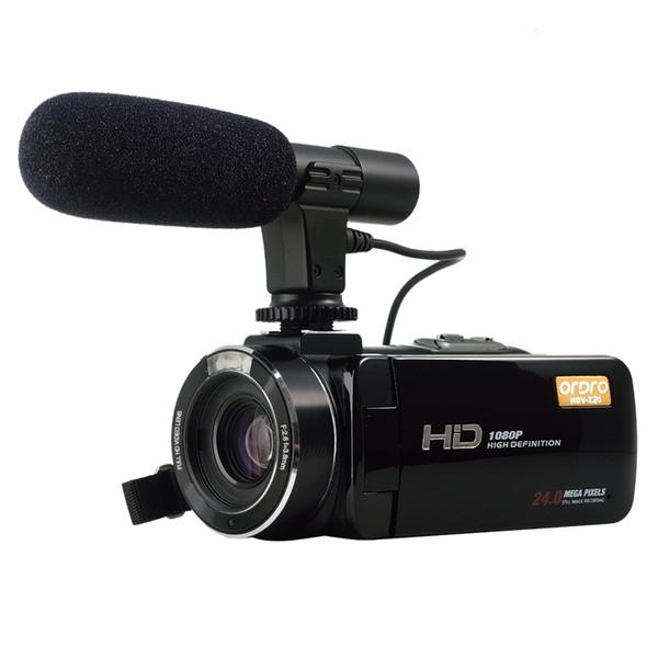 ORDRO HDV-Z20 WIFI 1080 P Full HD Câmera de Vídeo Digital Camcorder 24MP Zoom 16X Recodificação 3.0
