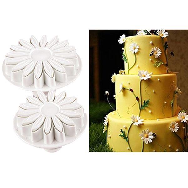 New Arrivel 33pcs Plunger Fondant Cutter Cake Tools Cookie Biscuit Cake Mold Mould Craft DIY 3D Sugarcraft Cake Decorating Tools