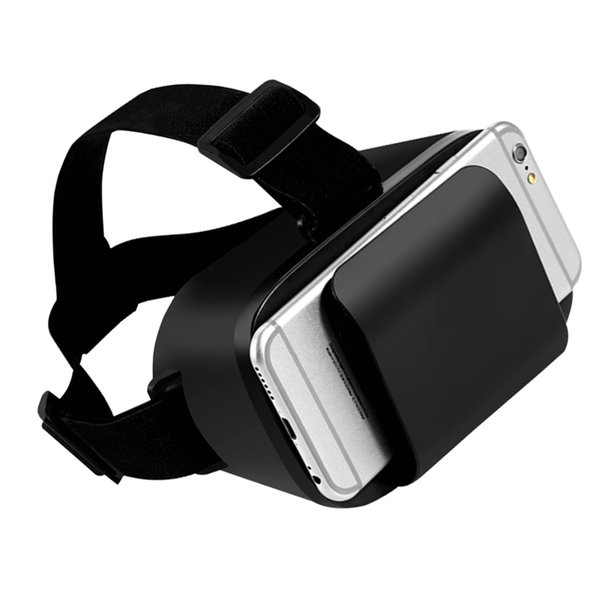 "Wholesale- Googles Cardboard 3D Virtual Reality Glasses VR 3D Glasses Headset VR Box Goggles For Iphone 4.7-6.0"" SmartPhone Ultra-light"