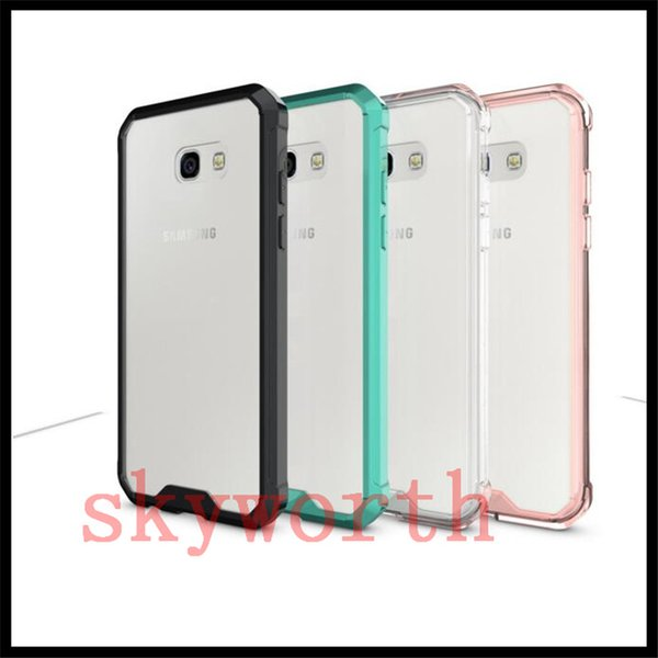 Transparent Clear Hybrid Bumper Shockproof Back Cover For iPhone X 8 7 6S Plus Samsung Galaxy Note 8 S6 S7 S8 Plus edge