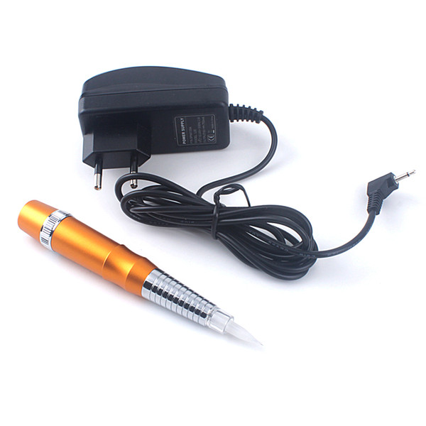 All'ingrosso - Più economico professionale trucco permanente macchina 4 colori tatuaggio in lega di trucco della penna del sopracciglio per gli aghi assortiti Tip FreeShipping