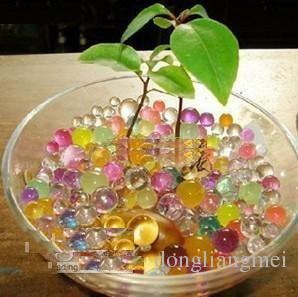 water beads 1000g Magic Plant Crystal Soil Mud Water Beads Pearl ADS Jelly Crystal ball 16