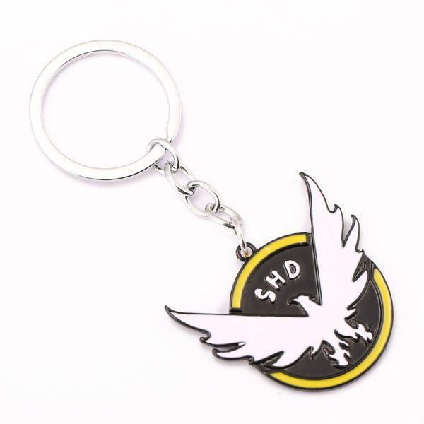 10 / adet Tom Clancys Bölümü Anahtarlık SHD Anahtar Yüzükler Tutucu Hediye Chaveiro Araba Anahtarlık Takı Hatıra YS11429