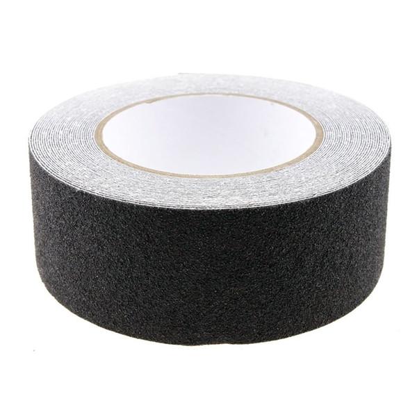 Atacado-10M Rolo de Anti Slip Tape Adesivos para escadas Decking Tiras Para Stair Floor Banheiro Auto-adesivo (preto)
