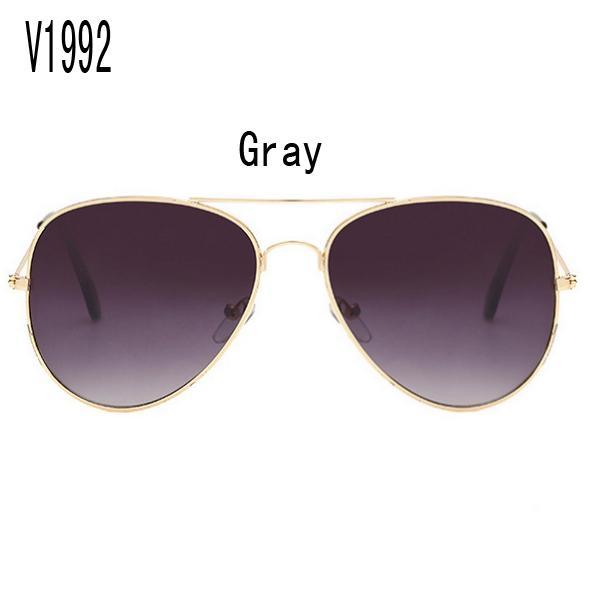 sunglasses for women purple korea oval face women case side shields china colour glass wholesale brand retro Uv protection V1992 with box