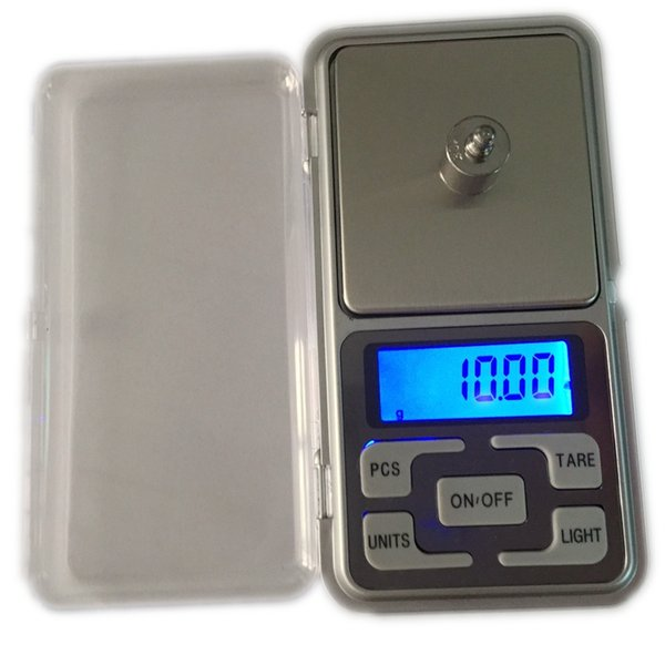 200g 0.01 Mini Pocket Jewelry Scale Precise LCD Digital Scales Electronic Diamond Weighing Capacity Weight Balance With Box